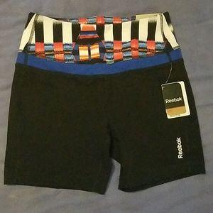 NWT Reebok Women's size small high waisted shorts